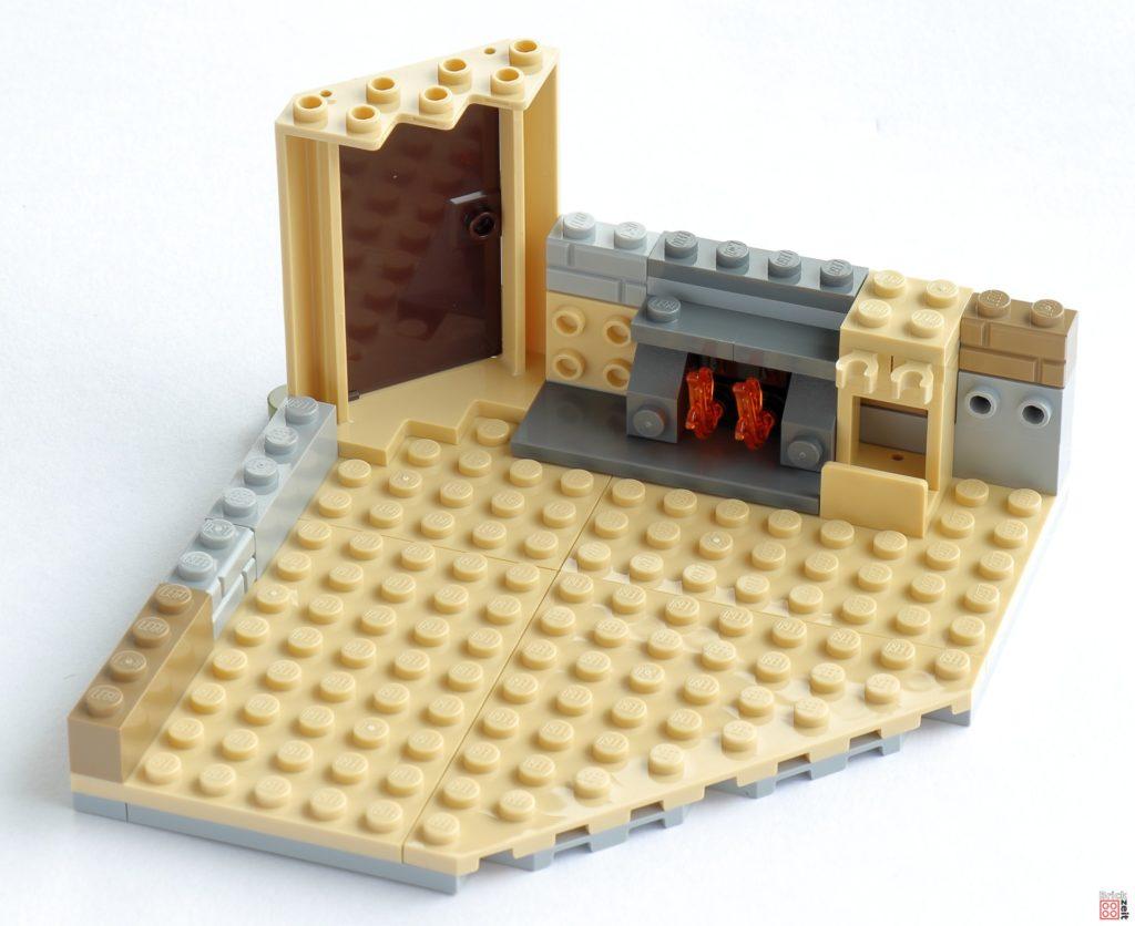 LEGO 76200 Baubeginn | ©Brickzeit