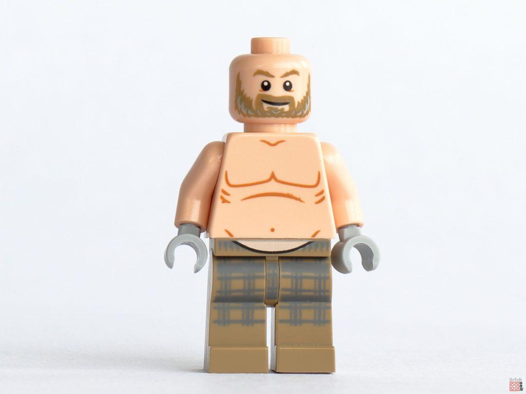 LEGO 76200 - Thor ohne Haare, Vorderseite | ©Brickzeit