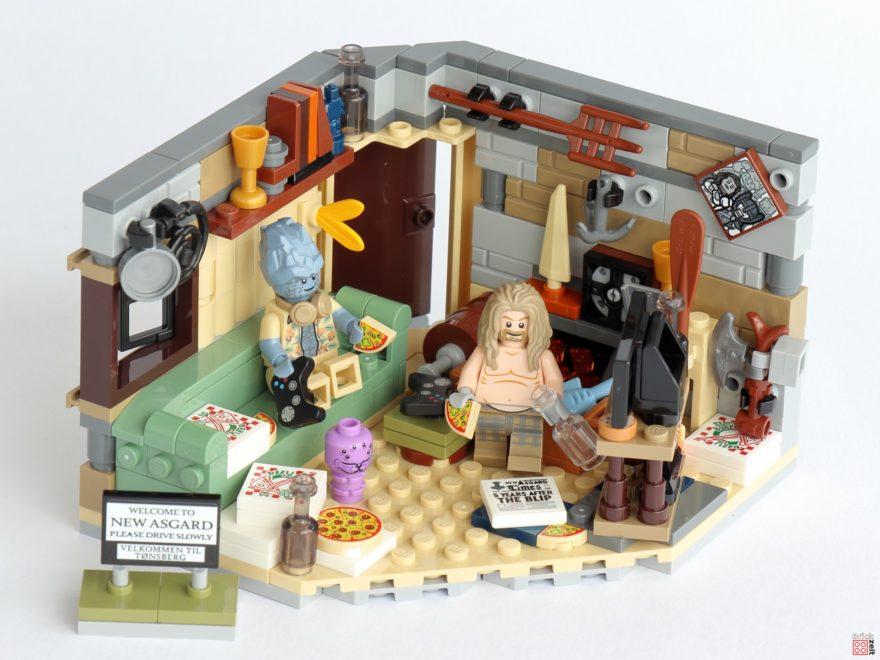 Review - LEGO Marvel 76200 Bro Thors neues Asgard | ©Brickzeit