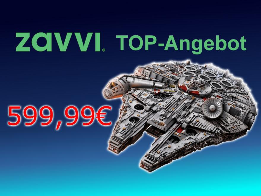 TOP-Angebot LEGO 75192 UCS Millennium Falcon für 599,99EUR bei Zavvi