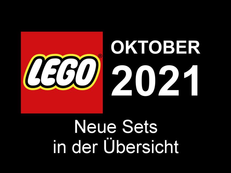 LEGO Neuheiten Oktober 2021