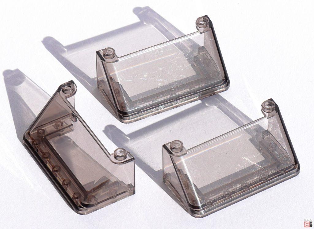 Drei große Fensterscheiben für den Tumbler   ©Brickzeit