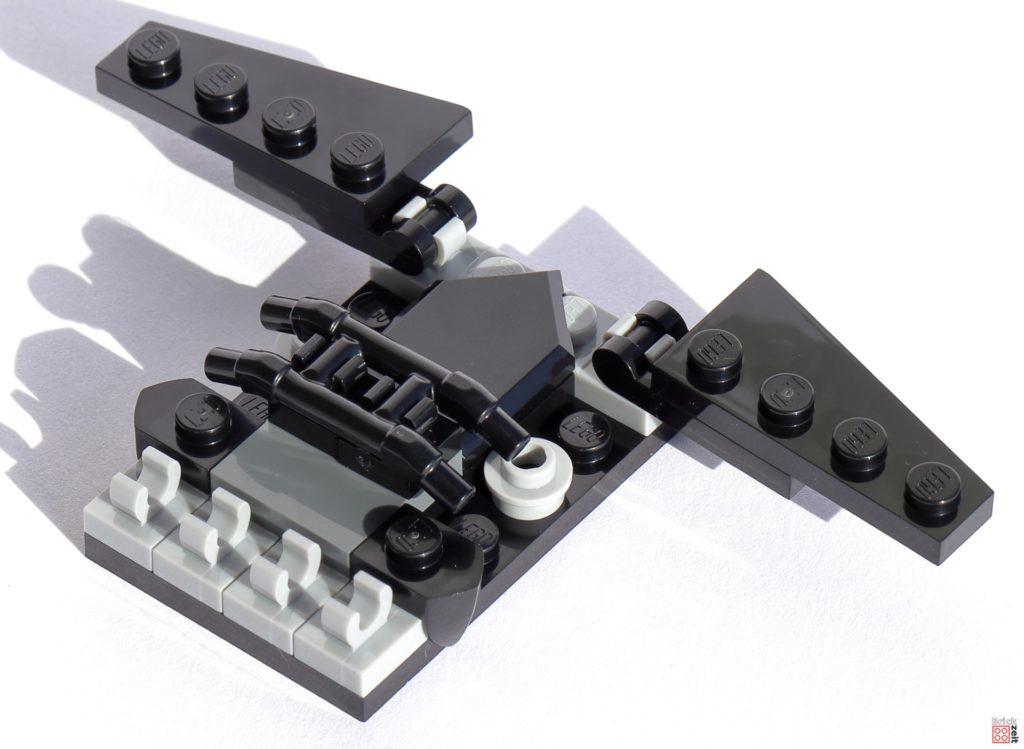 Heckspoiler / Hinterradabdeckung LEGO Tumbler   ©Brickzeit