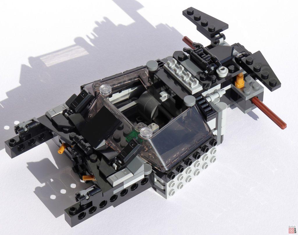 Bauabschnitt 2 der LEGO 76239 Tumblers ist fertig   ©Brickzeit