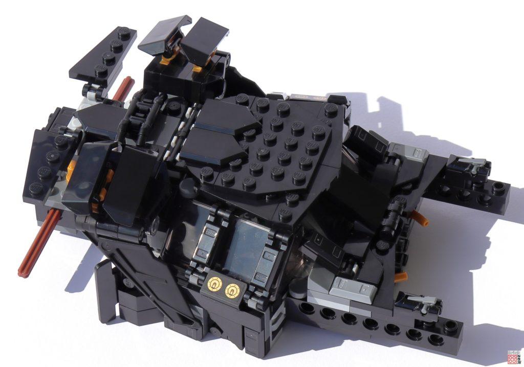 Bauabschnitt 03 des LEGO 76239 Tumblers ist abgeschlossen   ©Brickzeit