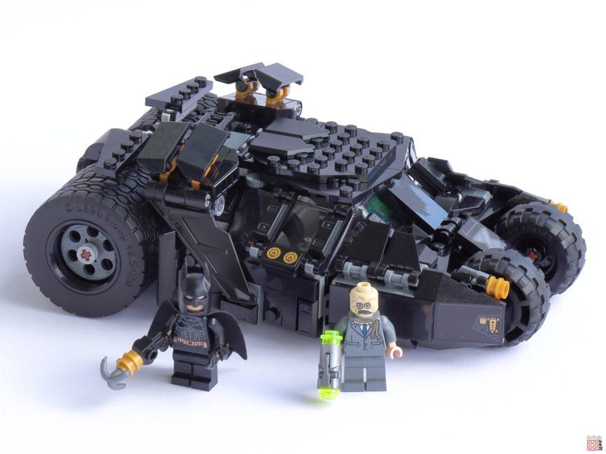 Review - LEGO 76239 Batmobile Tumbler: Duell mit Scarecrow | ©Brickzeit