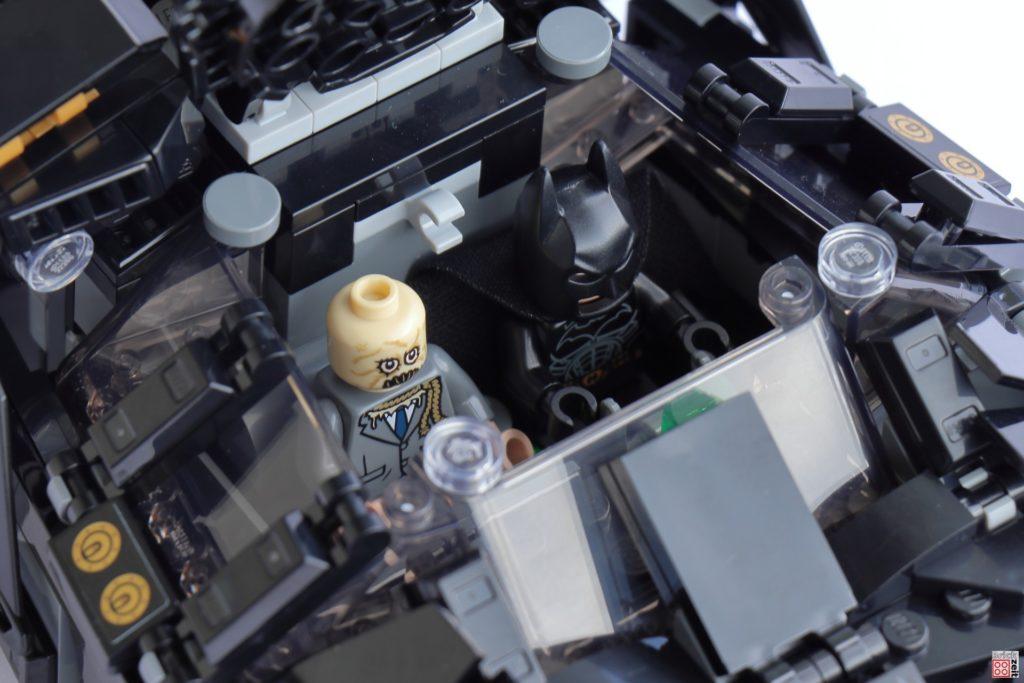 Der kleine LEGO Tumbler bietet Platz für zwei   ©Brickzeit