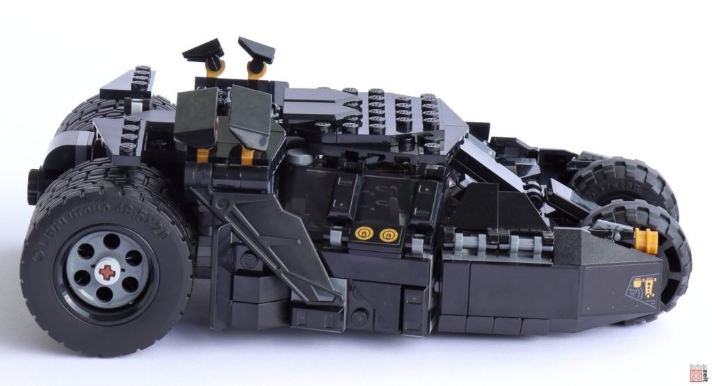 LEGO 76239 Tumbler - rechte Seite   ©Brickzeit