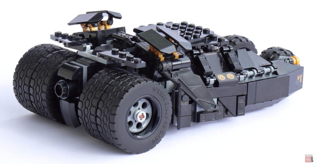 LEGO 76239 Tumbler - rechts, hinten   ©Brickzeit