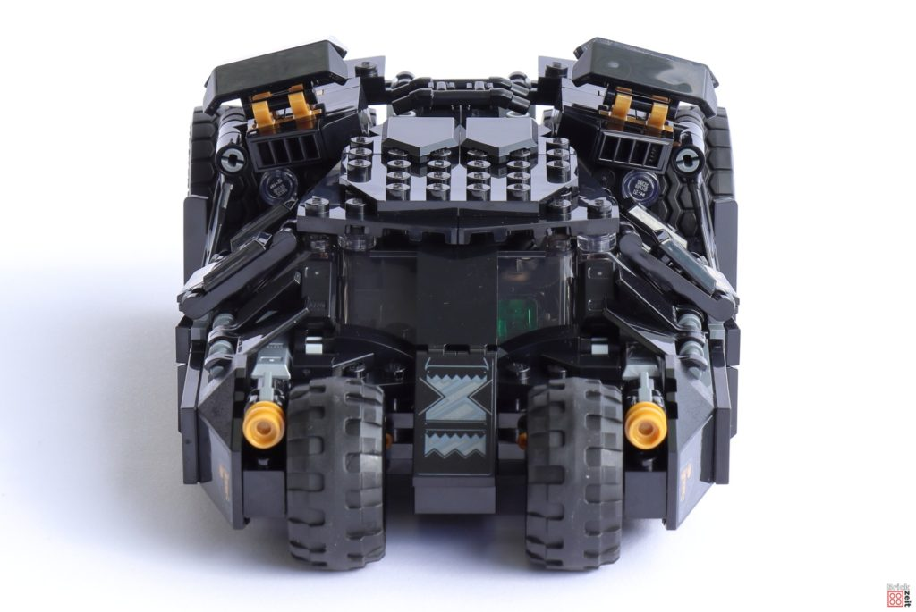 LEGO 76239 Tumbler - Vorderseite   ©Brickzeit