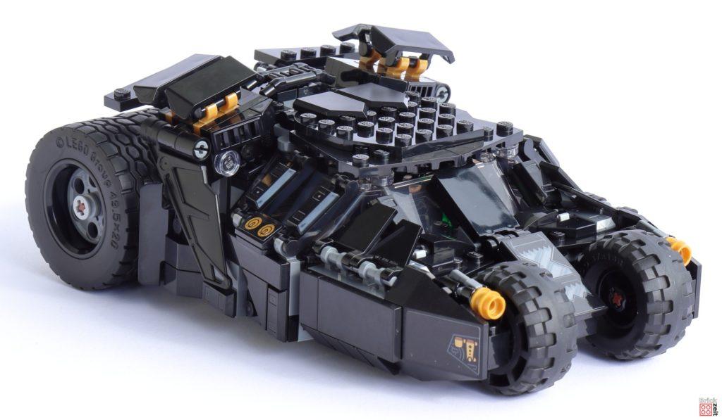 LEGO 76239 Tumbler - rechts, vorne   ©Brickzeit