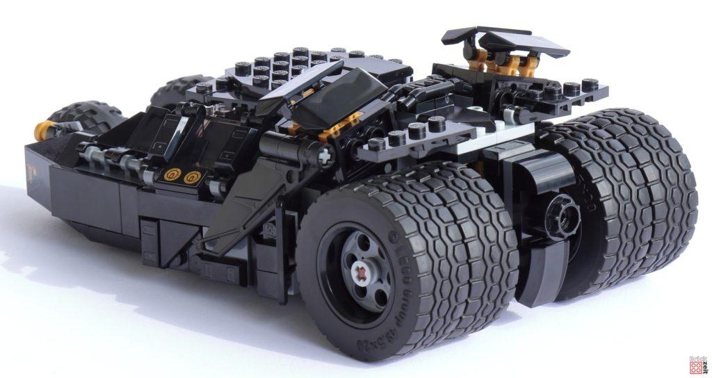 LEGO 76239 Tumbler - links, hinten   ©Brickzeit