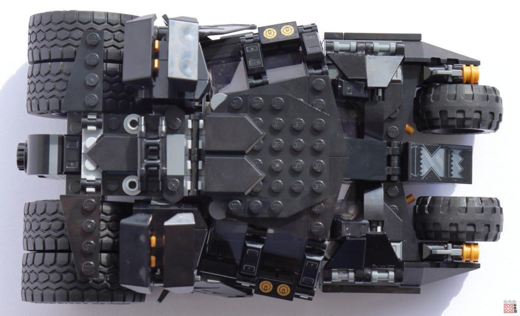 LEGO 76239 Tumbler - Sicht von oben   ©Brickzeit