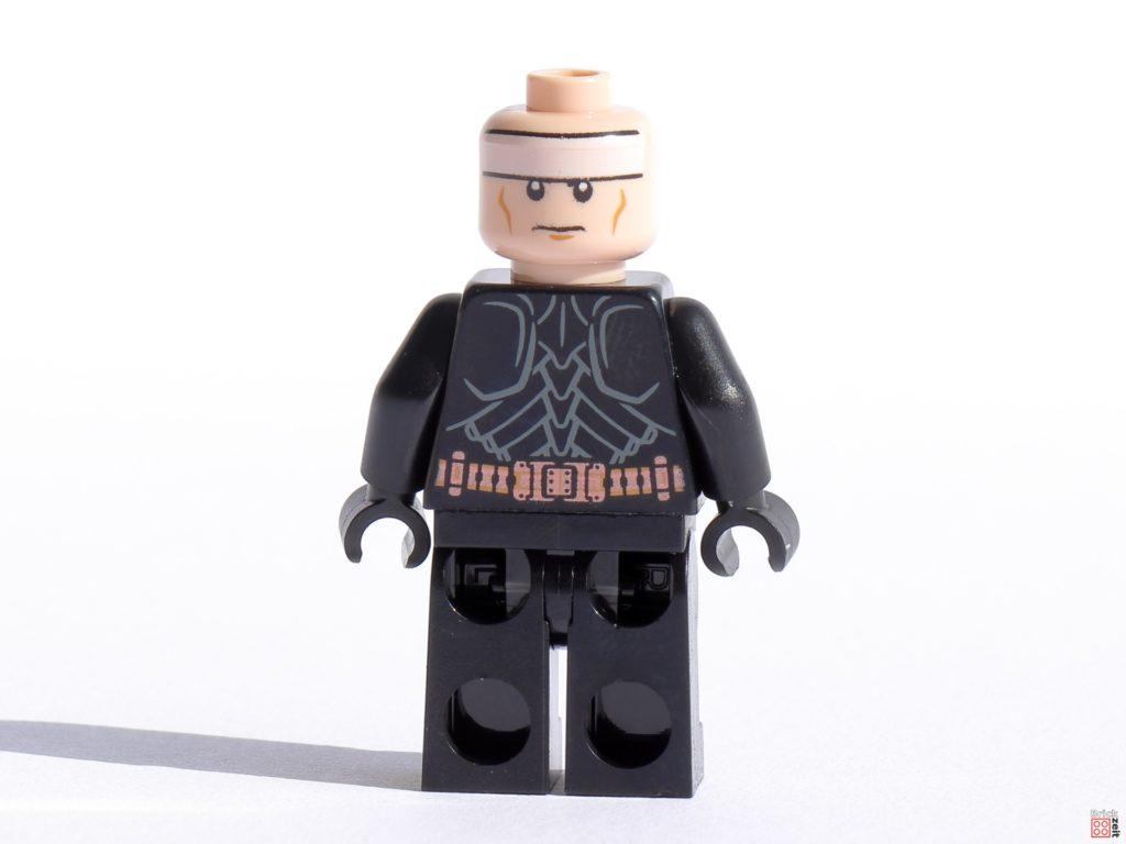 LEGO 76239 Batman Minifigur ohne Zubehör, Gesicht 2   ©Brickzeit