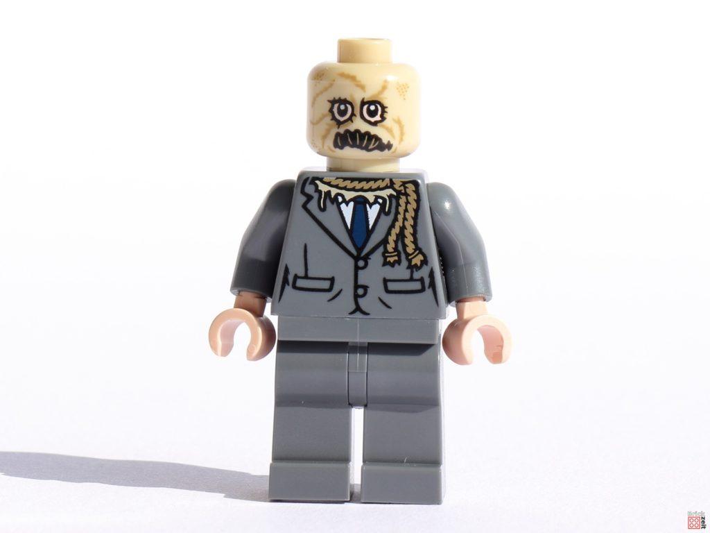 LEGO Scarecrow Minifigur, Vorderseite   ©Brickzeit