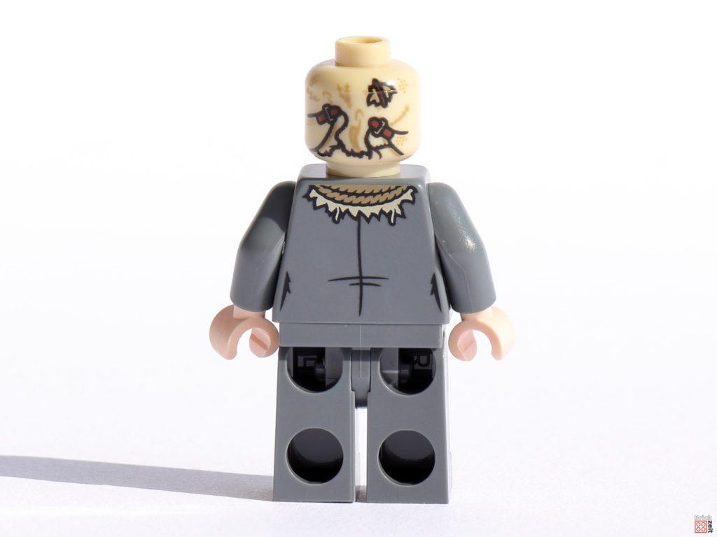 LEGO Scarecrow Minifigur, Rückseite   ©Brickzeit