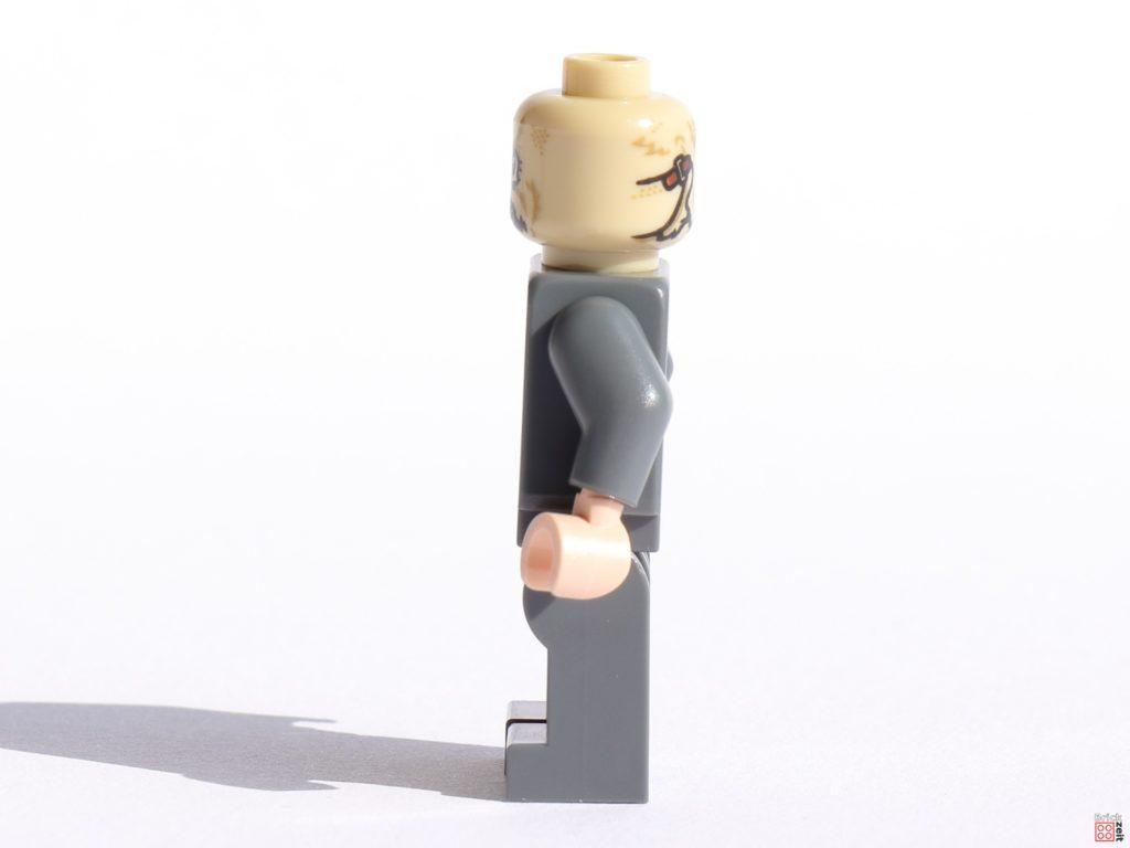 LEGO Scarecrow Minifigur, linke Seite   ©Brickzeit