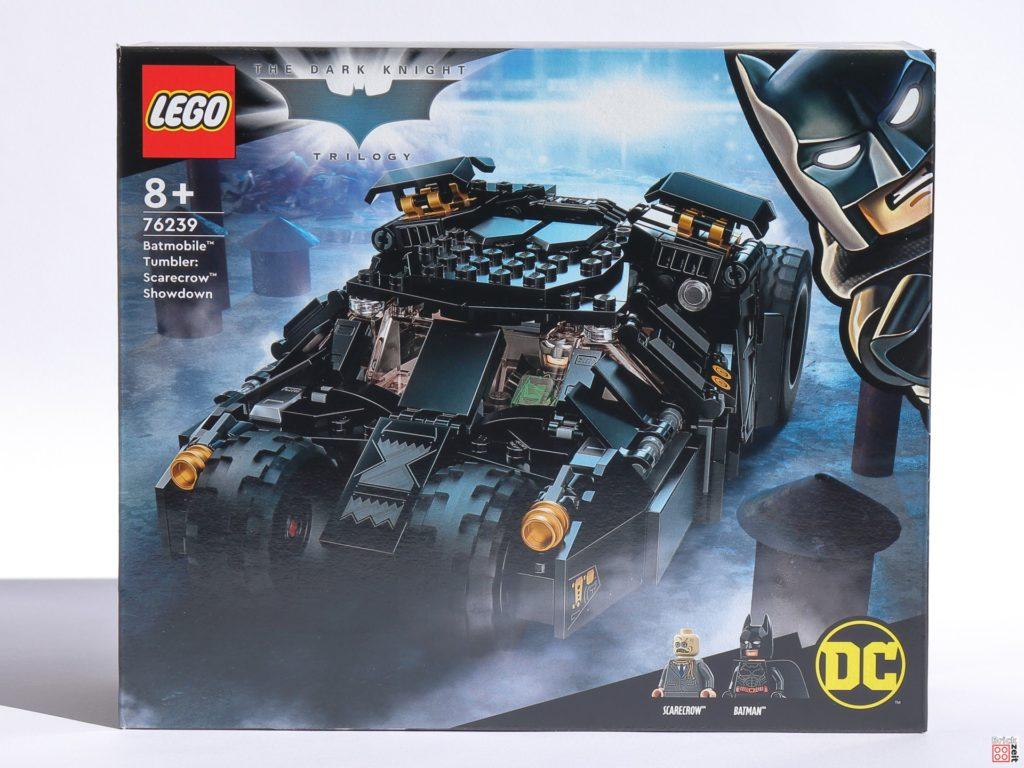 LEGO 76239 Batmobile Tumbler: Duell mit Scarecrow, Packung Vorderseite   ©Brickzeit