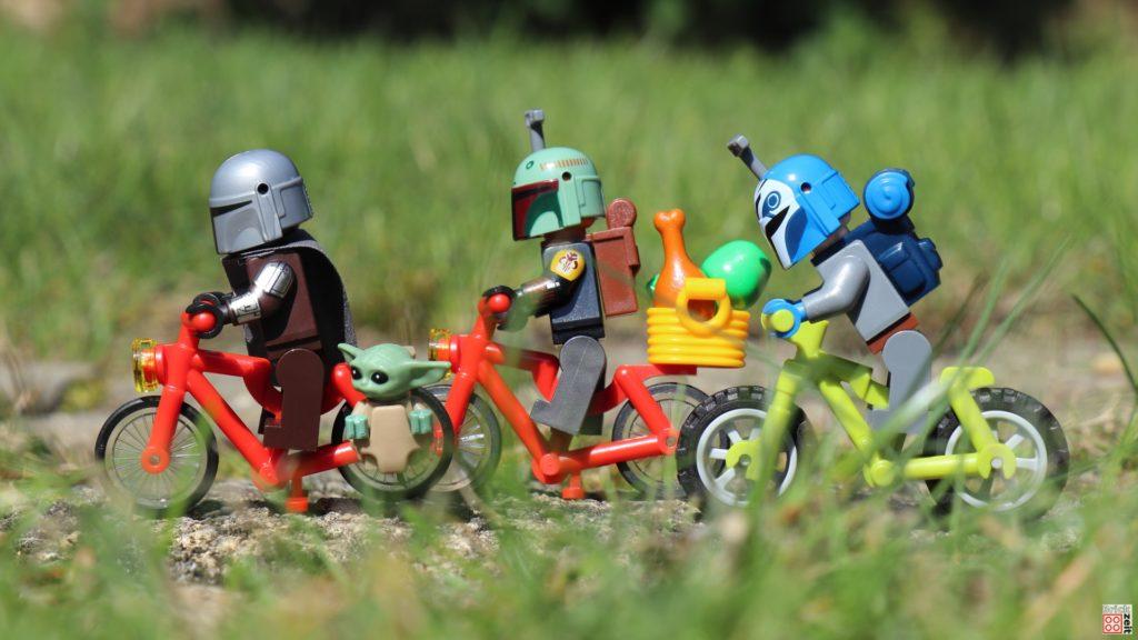 Die Fahrradtour geht weiter   ©Brickzeit