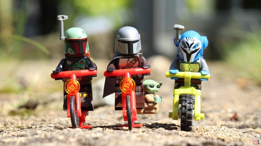 Die mandalorianische Fahrradtour beginnt   ©Brickzeit
