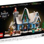 LEGO 10293 Besuch des Weihnachtsmanns ab 16.09.2021 im VIP-Vorverkauf