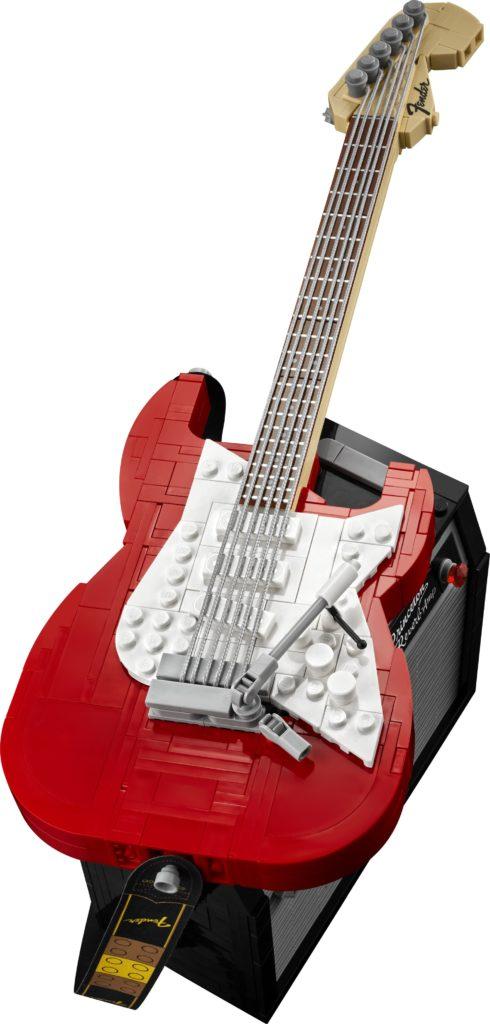 LEGO Ideas 21329 Fender Stratocaster   ©LEGO Gruppe