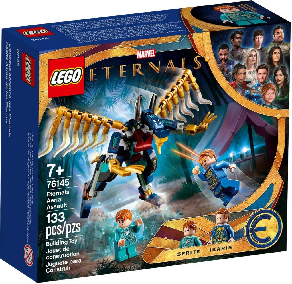 LEGO Marvel 76145 Luftangriff der Eternals   ©LEGO Gruppe