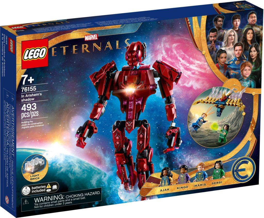 LEGO Marvel 76155 The Eternals: In Arishems Schatten   LEGO Gruppe