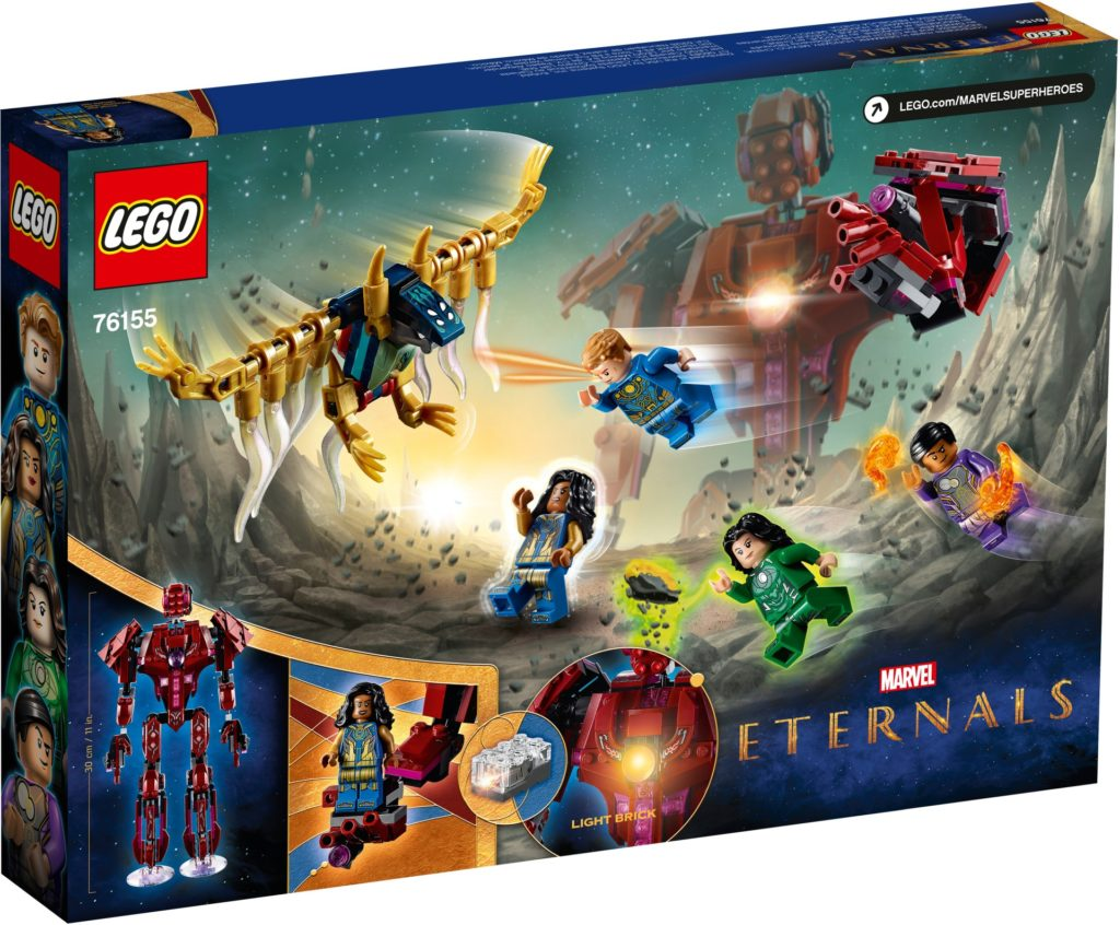 LEGO Marvel 76155 The Eternals: In Arishems Schatten