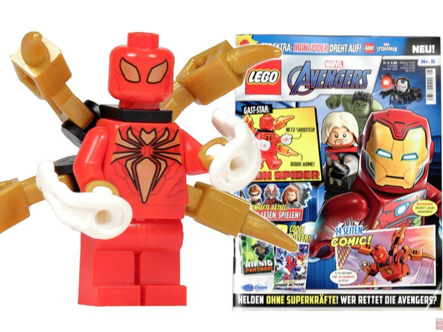 LEGO Marvel Magazin Nr. 8 Titelbild | ©Brickzeit