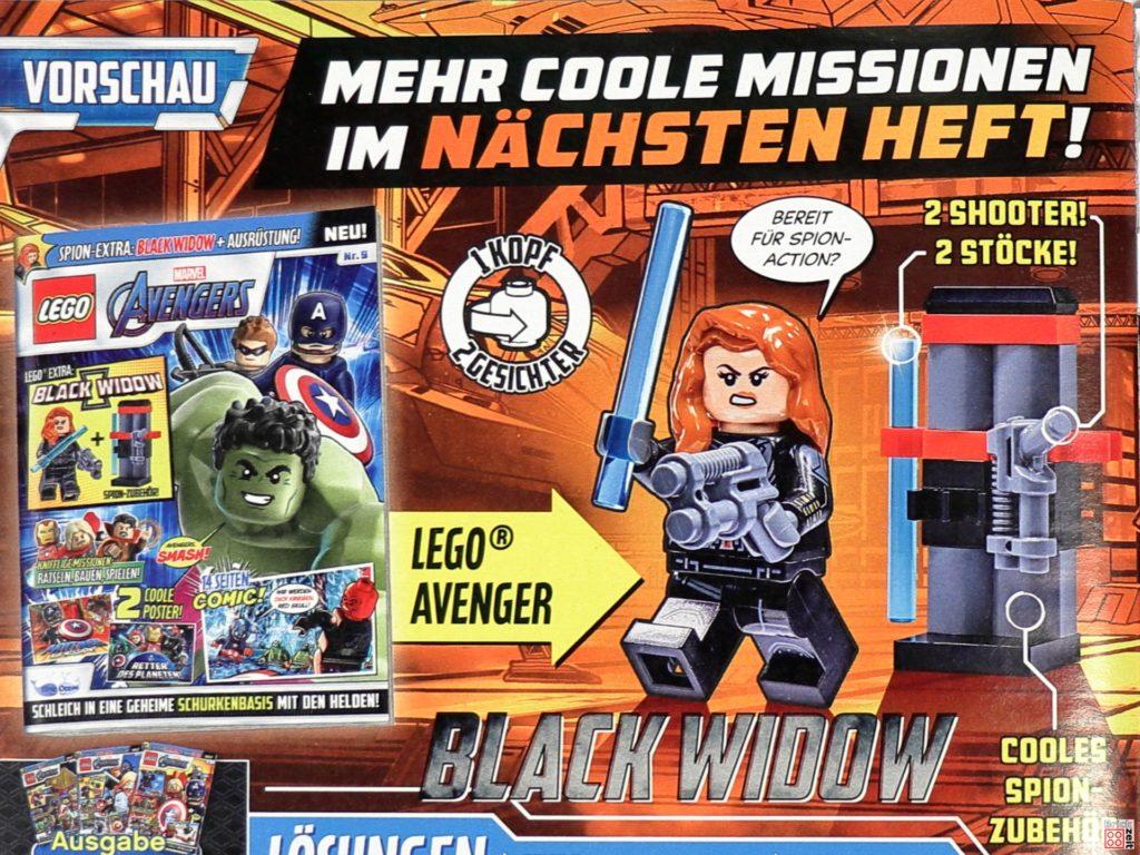 Vorschauf auf LEGO Marvel Magazin Nr. 9   ©Brickzeit