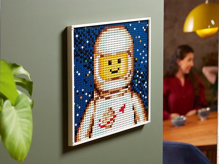 LEGO Art 21226 Gemeinsames Kunstprojekt | ©LEGO Gruppe