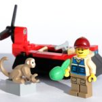 Review - LEGO City 30570 Luftkissenboot für Tierrettungen Polybag | ©Brickzeit