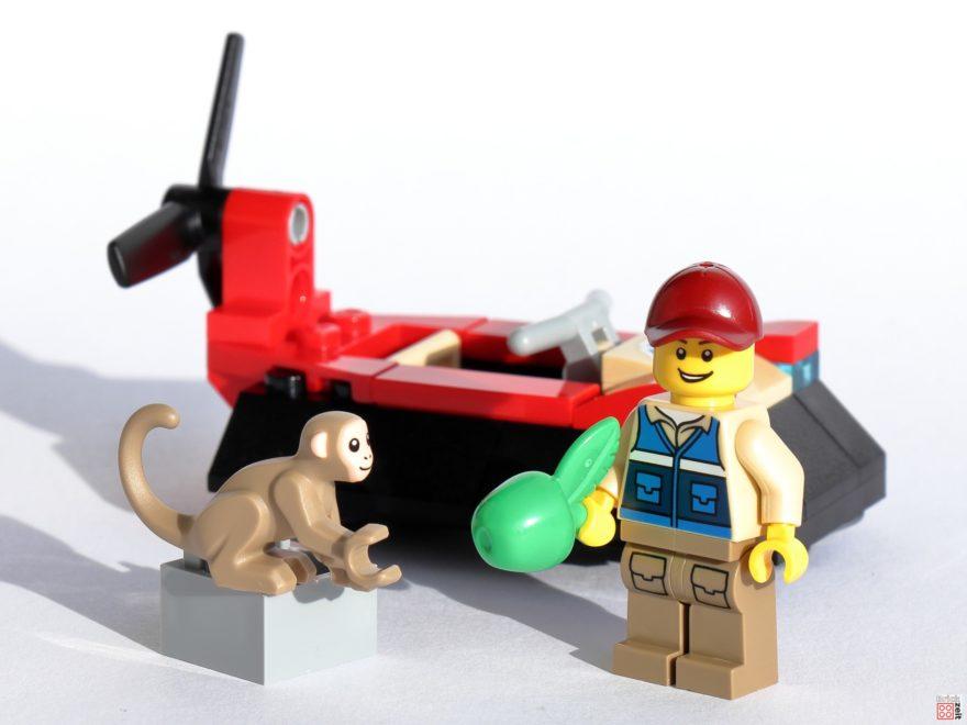 Review - LEGO City 30570 Luftkissenboot für Tierrettungen Polybag   ©Brickzeit