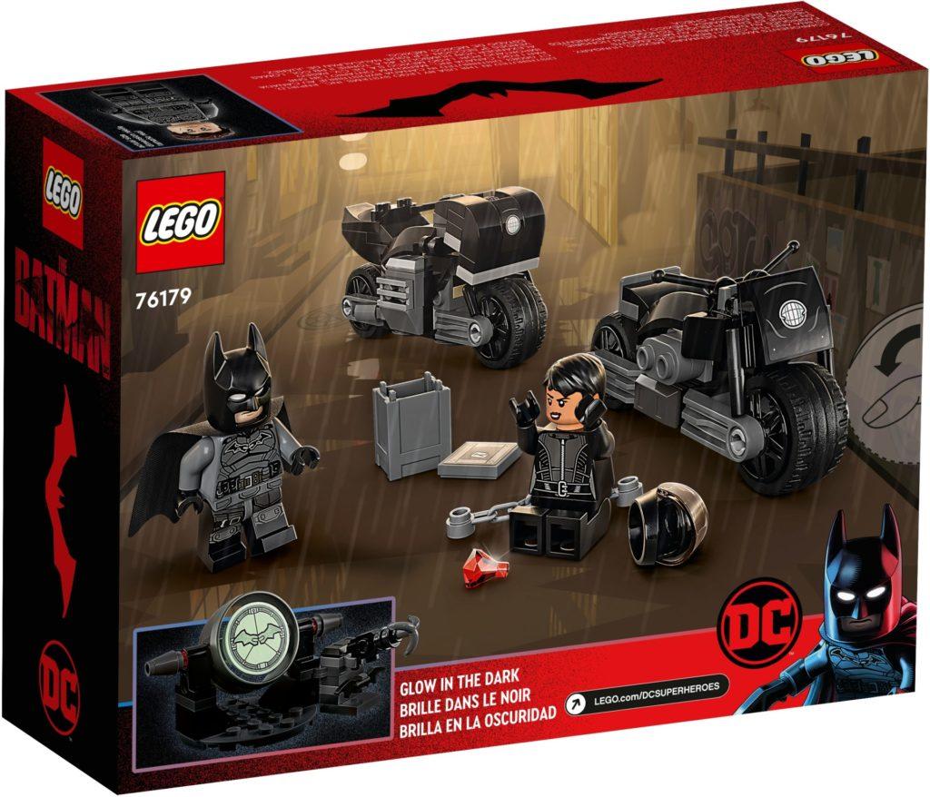 LEGO DC 76179 Batman™ & Selina Kyle™: Verfolgungsjagd auf dem Motorrad | ©LEGO Gruppe