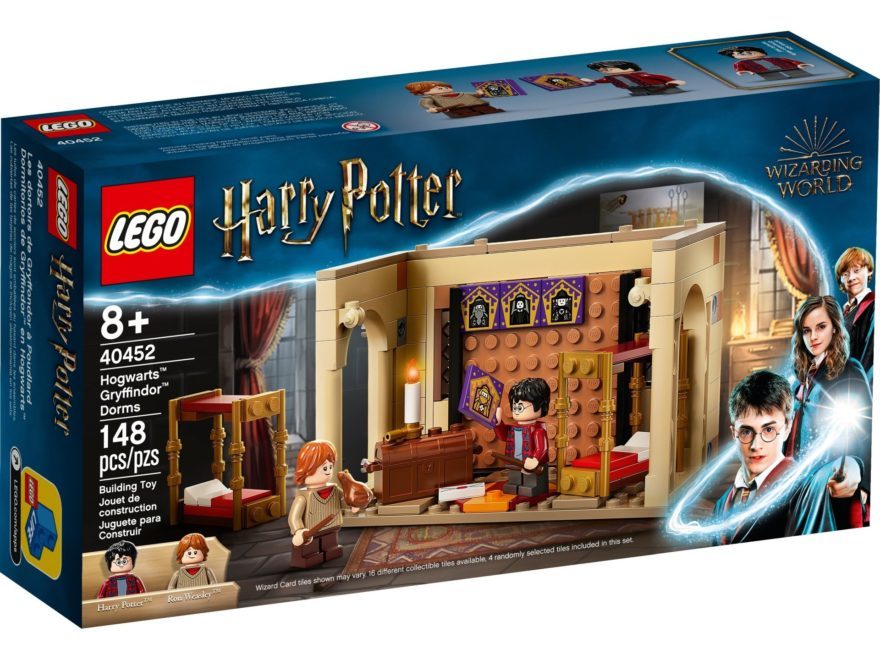 LEGO Harry Potter 40452 Hogwarts Gryffindor Schlafsäle | ©LEGO Gruppe