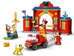 LEGO 10776 Mickys Feuerwehrstation und Feuerwehrauto