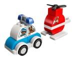 LEGO 10957 Mein erster Feuerwehrhubschrauber und mein erstes Polizeiauto