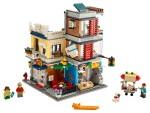 LEGO 31097 Stadthaus mit Zoohandlung & Café