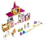 LEGO 43195 Belles und Rapunzels königliche Ställe