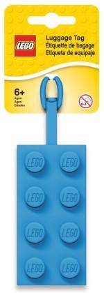 LEGO 5005543 Blauer LEGO® 2x4-Stein-Gepäckanhänger