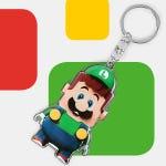 LEGO 5007029 Luigi Keychain