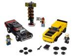 LEGO 75893 2018 Dodge Challenger SRT Demon und 1970 Dodge Charger R/T